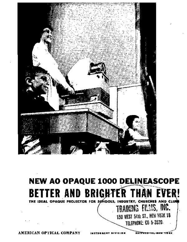 New AO Opaque 1000 Delineascope Better and Brighter Than